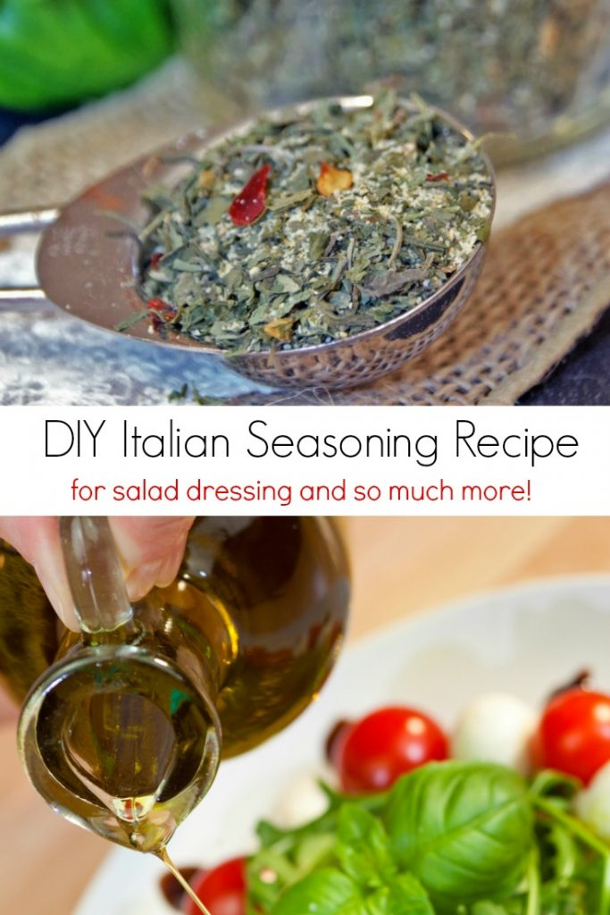 DIY Italian Seasoning Recipe for Salad Dressing and So Many More Delicious Italian Recipes!