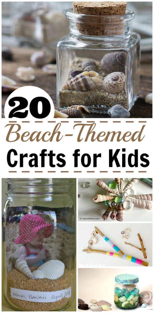 Looking for ocean crafts? Here are 26 Beach Themed Crafts to Celebrate the Ocean in a Decorative Way!