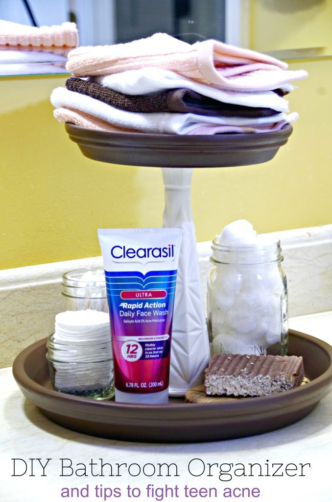 Solutions for Teen Acne Struggles and a DIY Bathroom Organizer