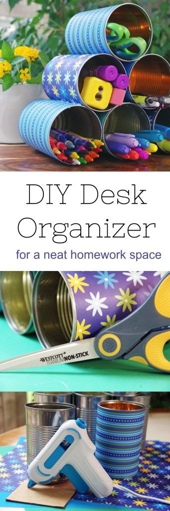 DIY Desk Organization Idea that is Creative and Inexpensive!