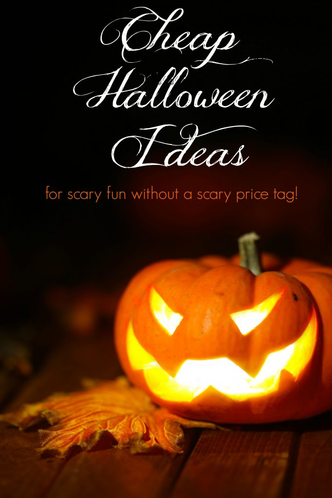 Cheap Halloween Ideas for Loads of Frugal Fun