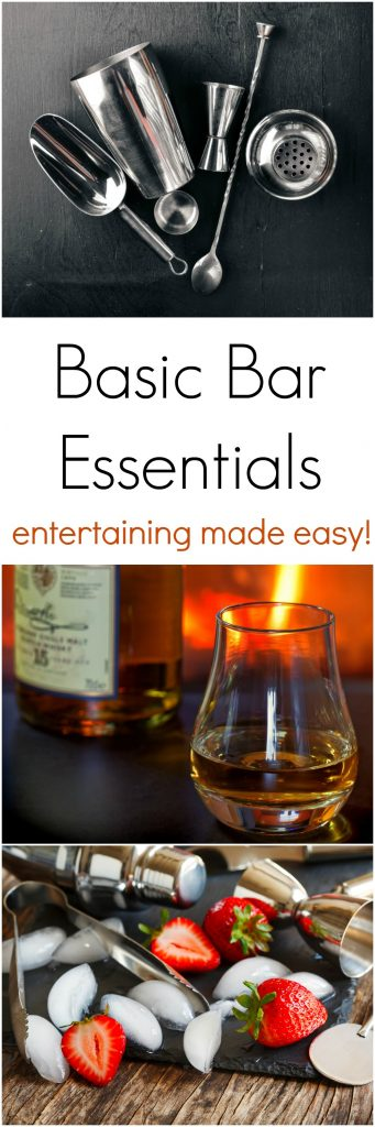 Basic Bar Essentials for Your Next Party Hosting Experience