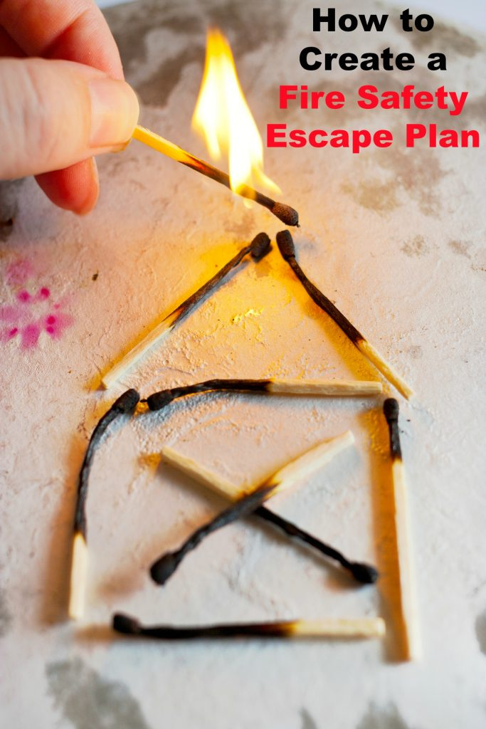 Keep your family safe in a home fire. Check out these tips for creating a fire safety escape plan with your kids as well as a free printable to get started.