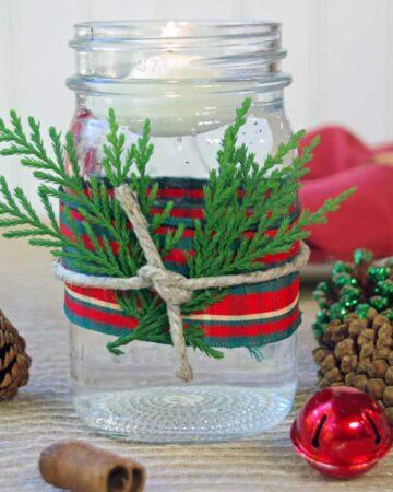 Easy DIY Christmas Candles
