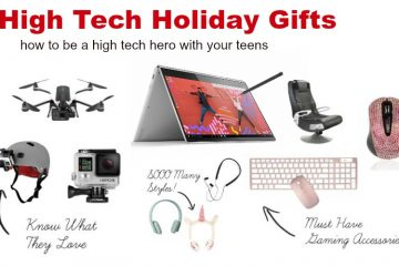 High Tech Holiday Gift Ideas and Shopping Technology for Teens