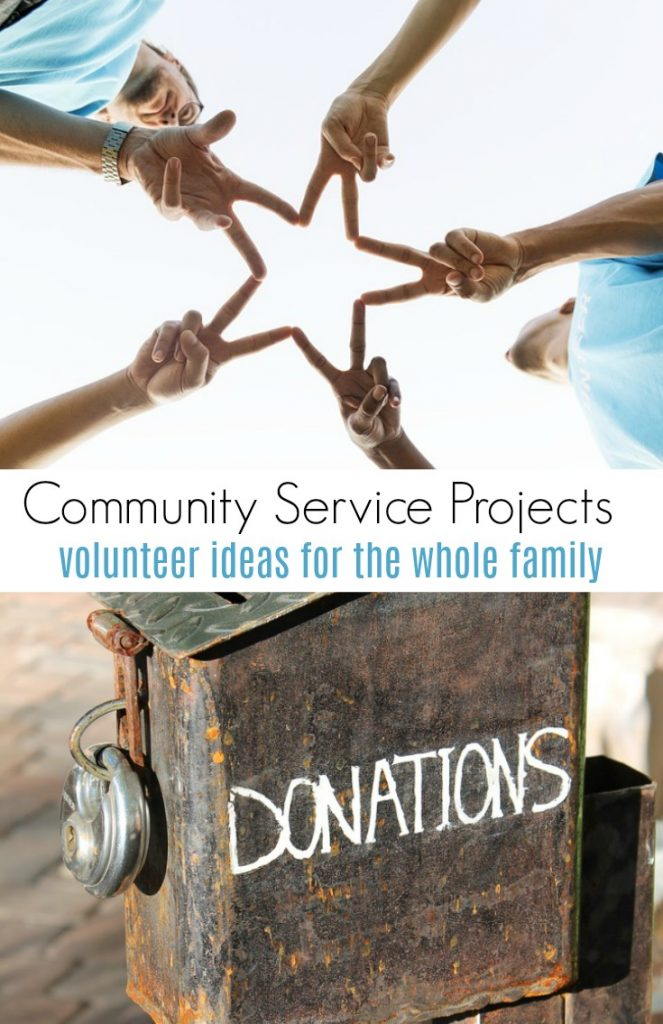 Community Service Project Ideas for the Whole Family