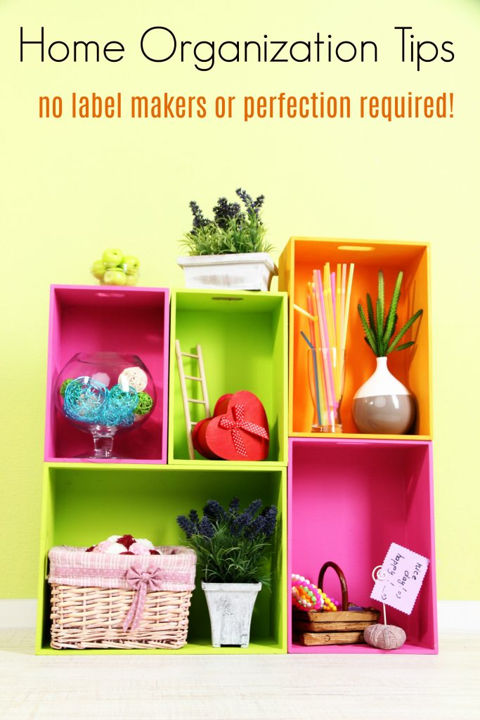 Easy Home Organization tips from a Lazy Mom