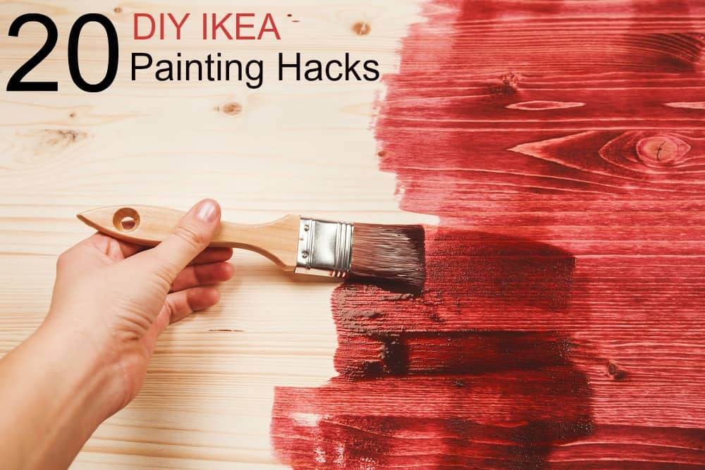 Fun IKEA painting projects