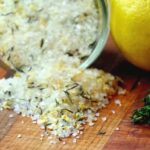 Lemon Thyme Infused Sea Salt is Perfect for Your Seafood Recipe