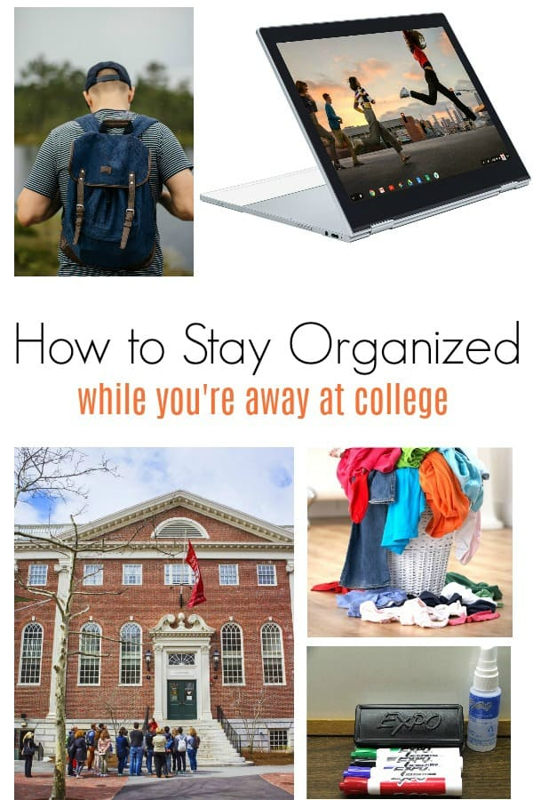 Things college kids need to stay organized