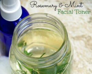 Summer Skin Care Tips and DIY Rosemary Mint Facial Toner
