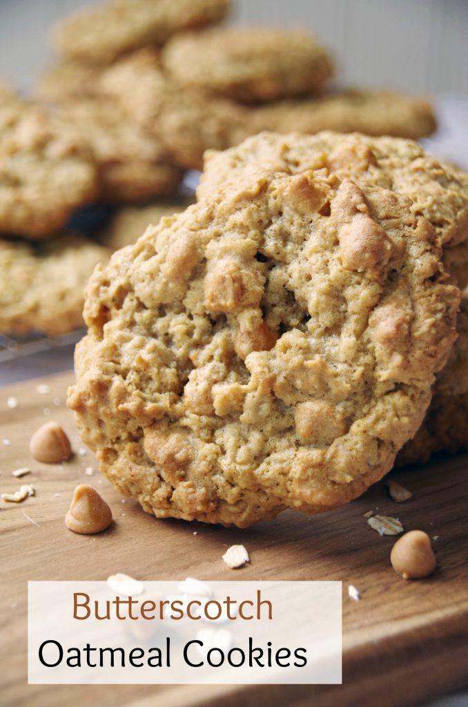 Easy Butterscotch Oatmeal Cookie Recipe