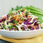 Coleslaw with lime dressing