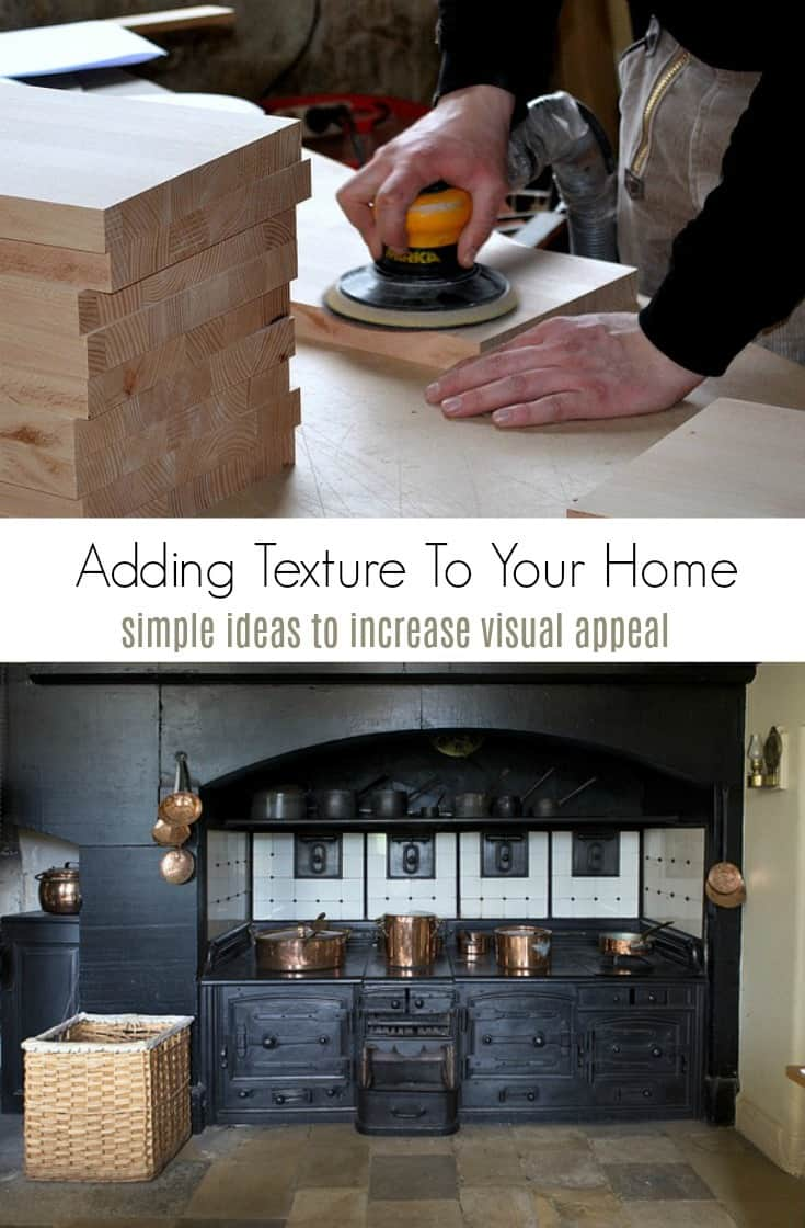 Want new and unique ways to decorate your house?  Learn how to add texture to your home with these simple tips for a peaceful and relaxing space!