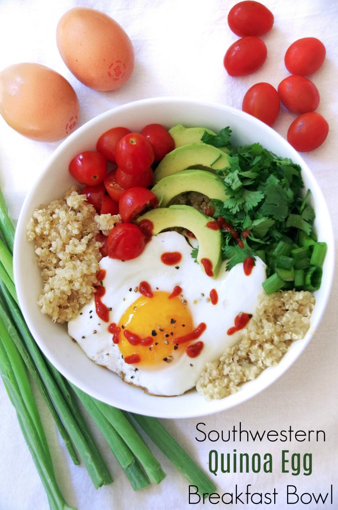 Southwester Breakfast Quinoa Bowl Recipe