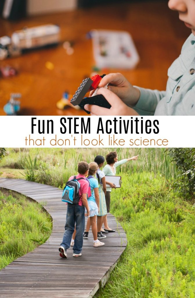 Fun STEM Activities for Kids that Don't Look Like Science