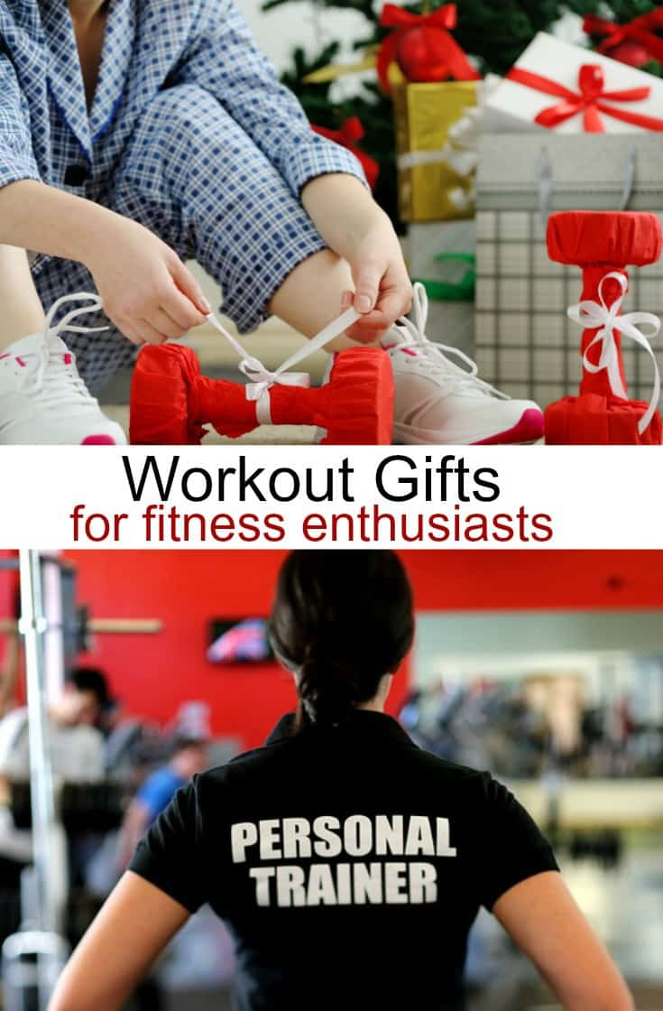 Looking for gift ideas for fitness enthusiasts? Putting together workout gift baskets?  Here are a few good workout gifts for people who love exercise.