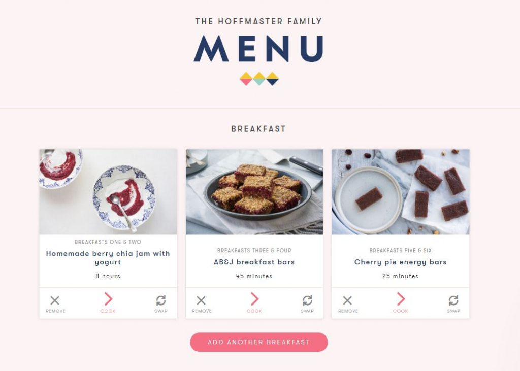 Platejoy recipes