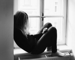 teenager depressed