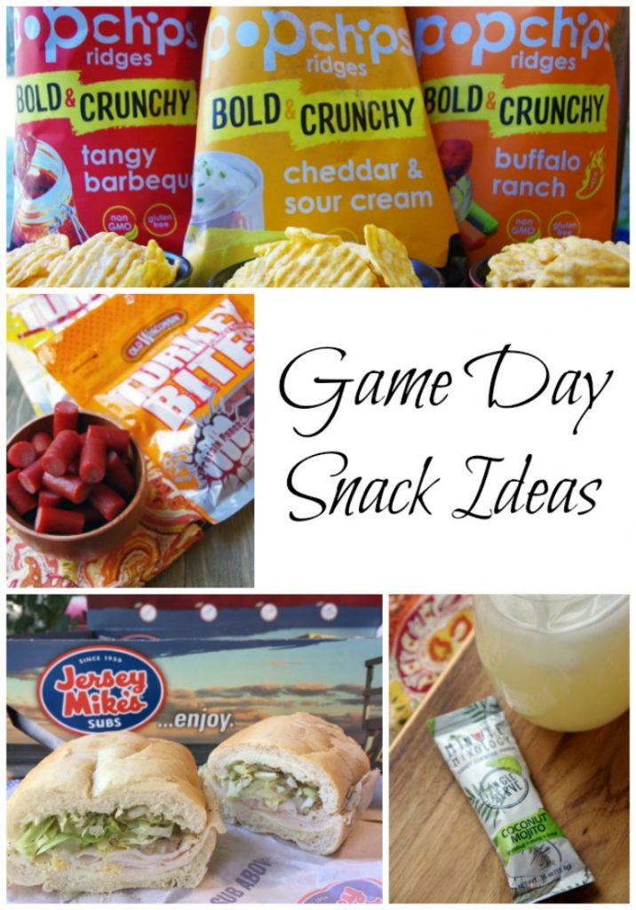 Football Game Day Snack Ideas