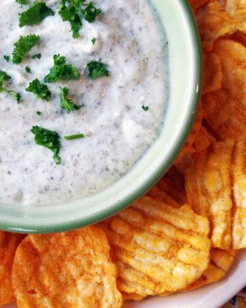 Greek Yogurt Ranch Dip Recipe