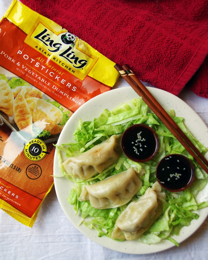 Ling Ling Potstickers and Dipping Sauce
