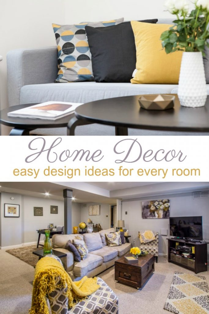 Find a home decor style that feels like YOU.  Here are a few home decorating tips and ways to find your home decor style before you start.