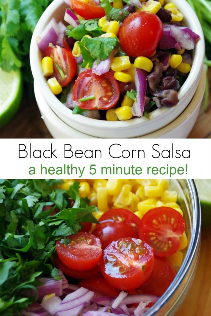 Easy Black Bean Corn Salsa Recipe
