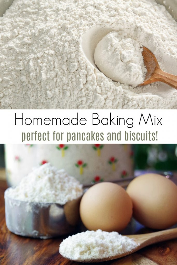 Homemade Baking Mix Recipe Perfect for Pancakes and Biscuits