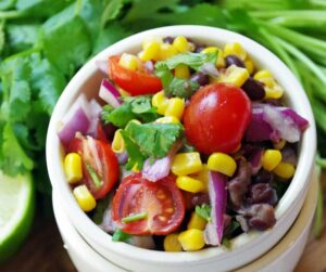 Homemade Fresh Corn Salsa