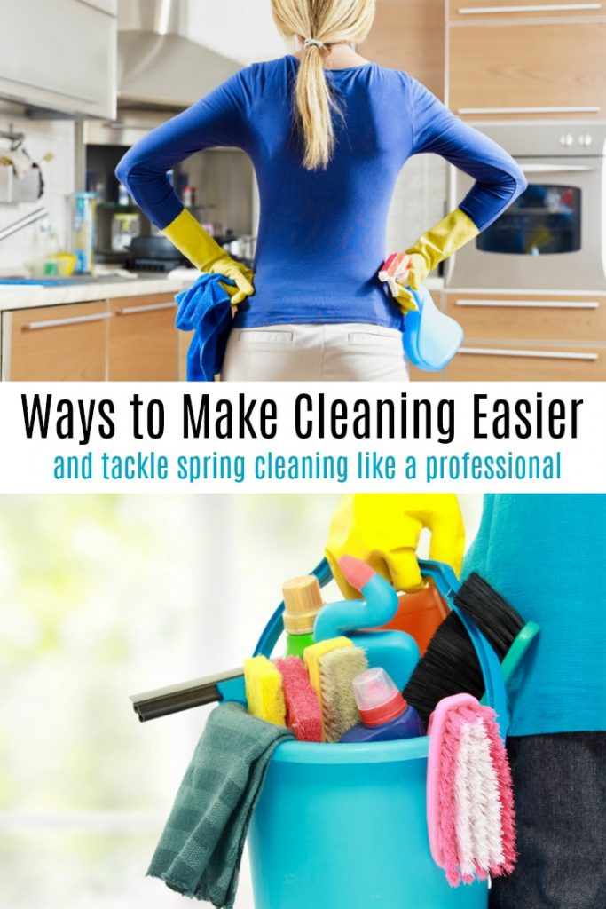 Ways to Make Cleaning Easier and Tackle Spring Cleaning Like a Professional
