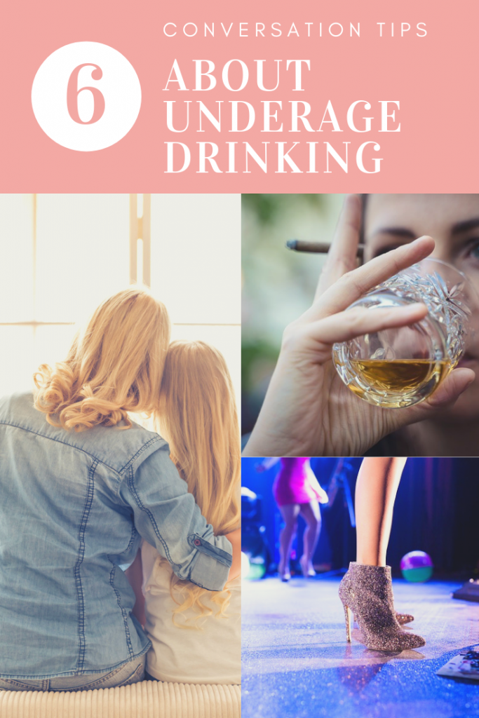 Conversation tips for Parents about Underage Drinking