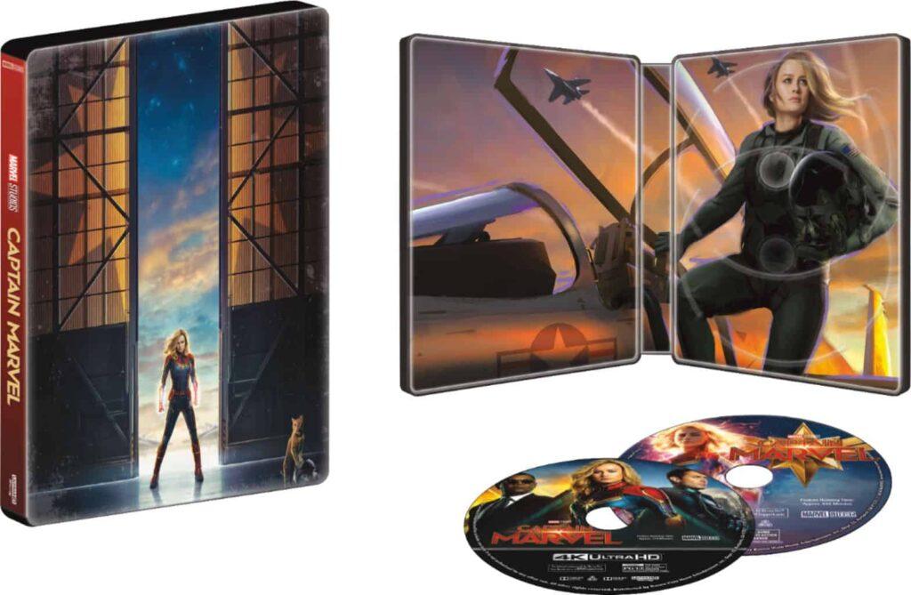 captain marvel steelbook artwork