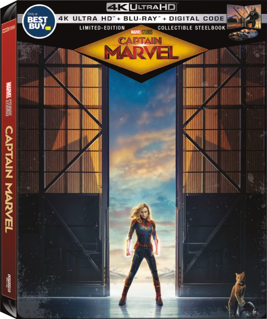 Captain Marvel Steelbook for movie collectors