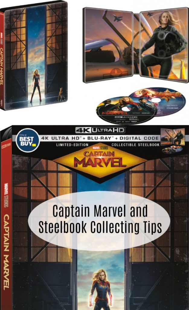 Captain Marvel and Steelbook Collecting Tips