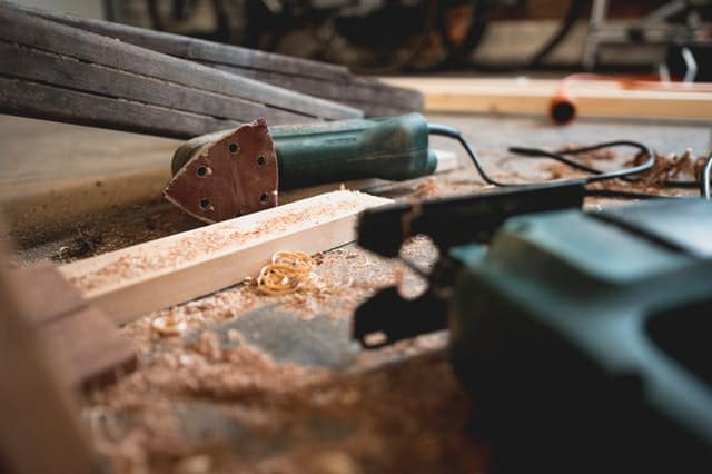 wood and tools for carpentry