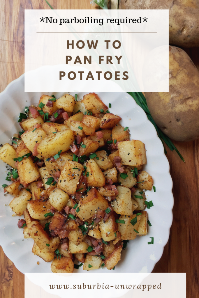 How to Pan Fry Potatoes