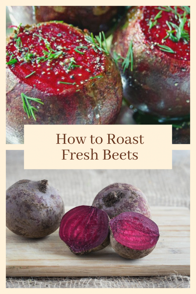 Roasting Fresh Beets in Foil with Fresh Herbs