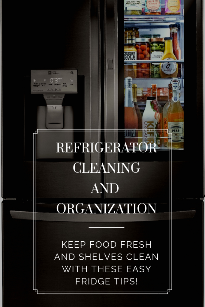 Refrigerator Cleaning and Organization