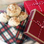 Box of homemade white chocolate truffles