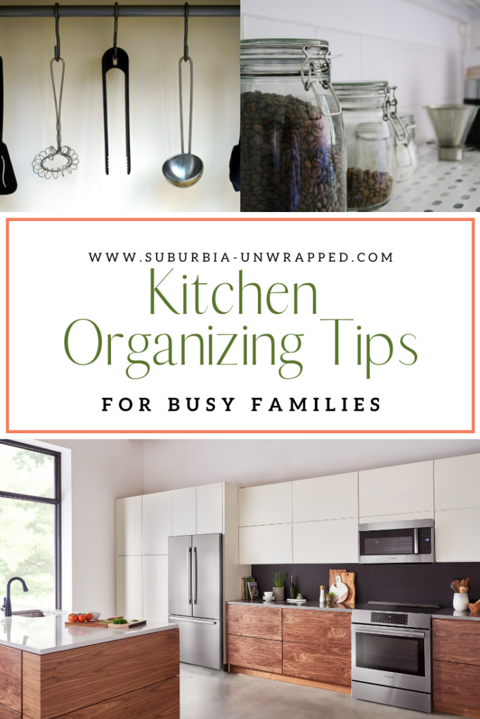 Kitchen Organizing Tips for Busy Families