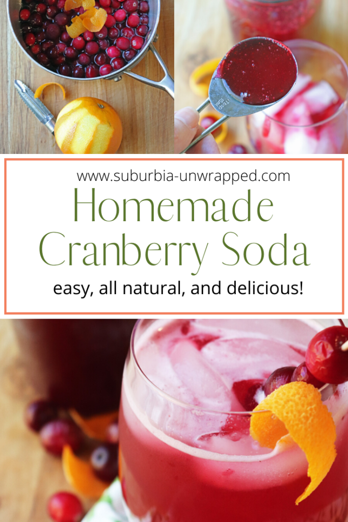 Homemade Cranberry Soda Recipe