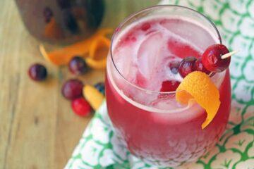 Homemade Cranberry Soda Recipe
