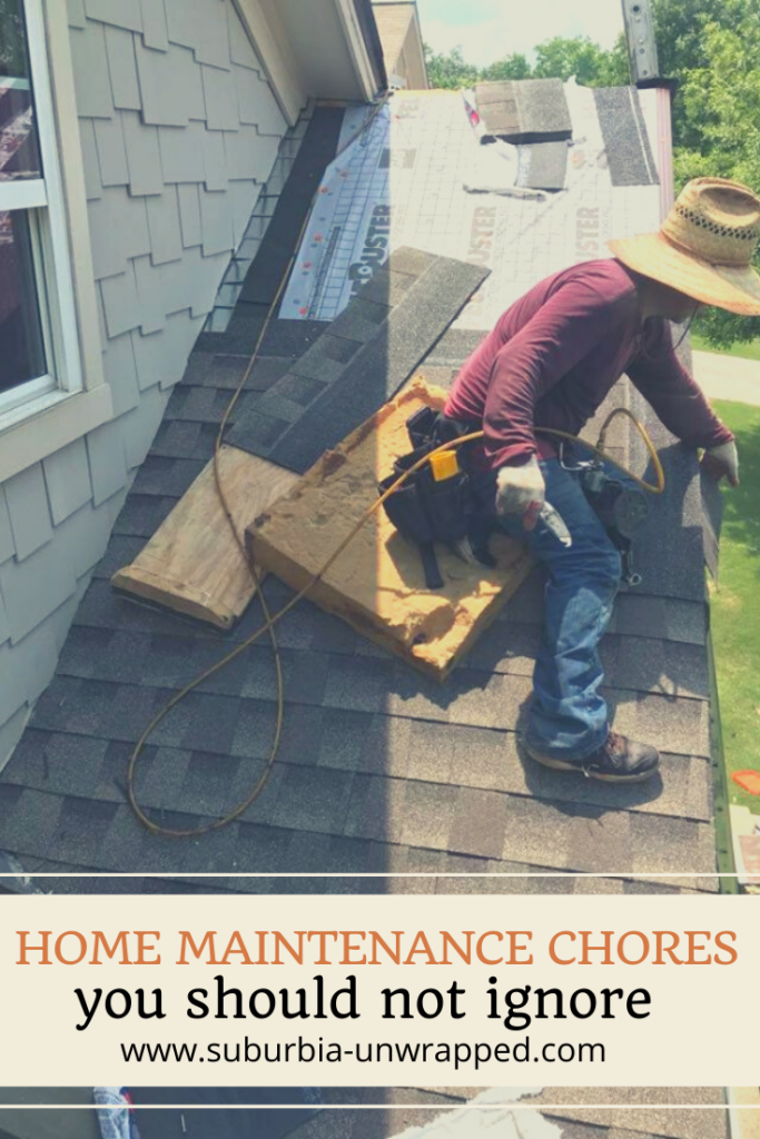 Home Maintenance Chores you should not ignore