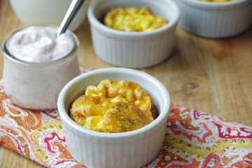 Need great egg recipes make these baked eggs in ramekins