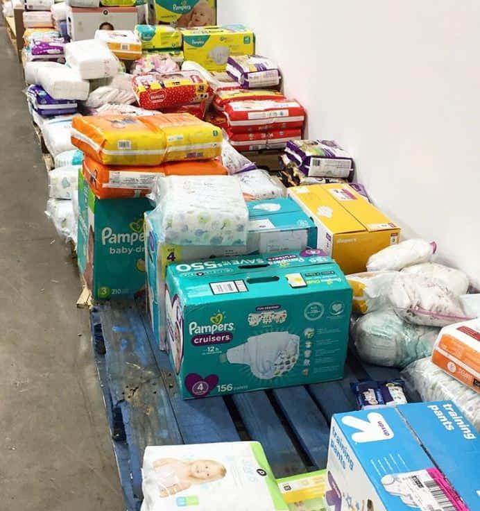 community diaper donations