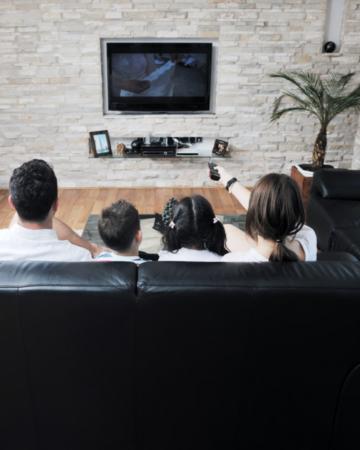 family movie night activity for family bonding